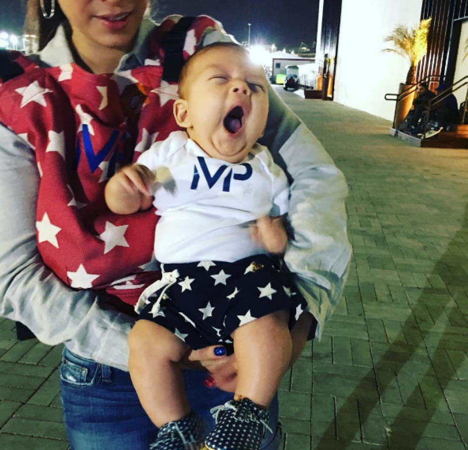 Boomer el primogénito de Phelps que conquista la redes. (Foto: Instagram)