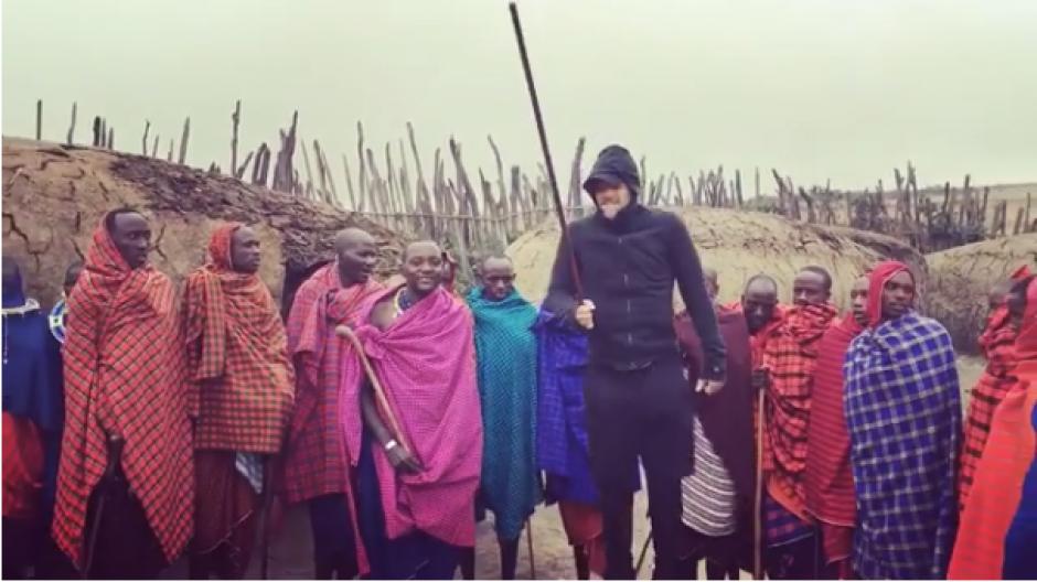 El cantante compartió en las redes sociales el particular baile. (Foto: Instagram Ricky Martin)
