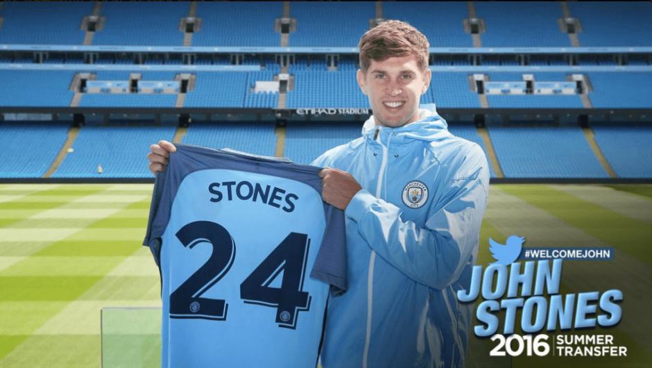 El joven inglés llevará el número 24.  (Foto: Twiiter@ManCity)