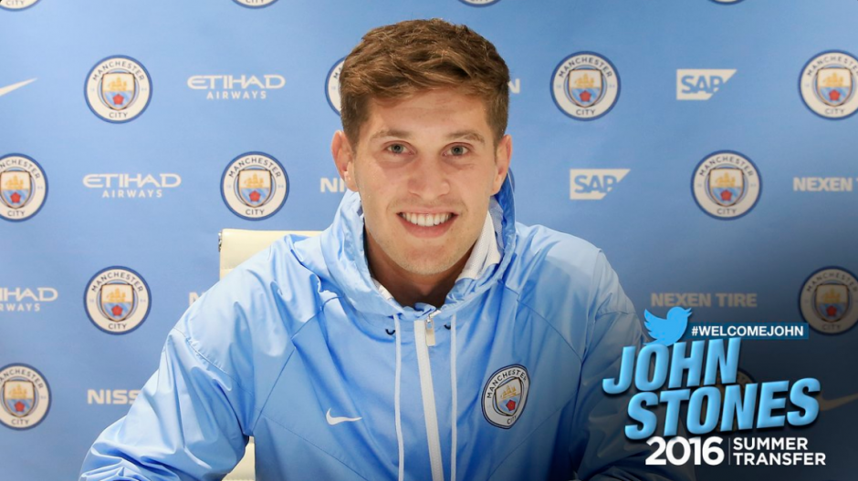 El joven llega por 56 millones de euros del Everton. (Foto: Twiiter@ManCity)