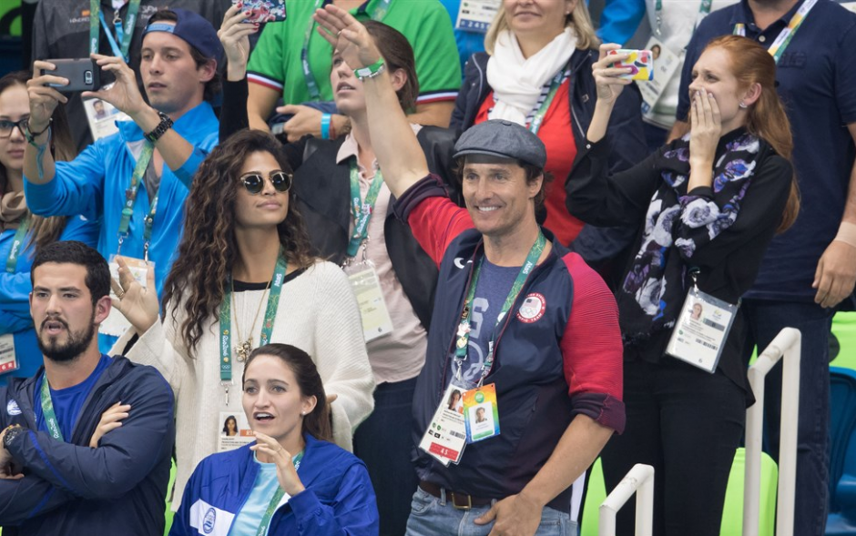 Así celebran el triunfo del atleta. (Foto: time.com)