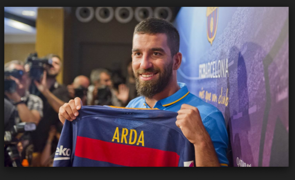 Arda Turan fue jugador del Atlético de Madrid. (Foto: dailymail.co.uk)