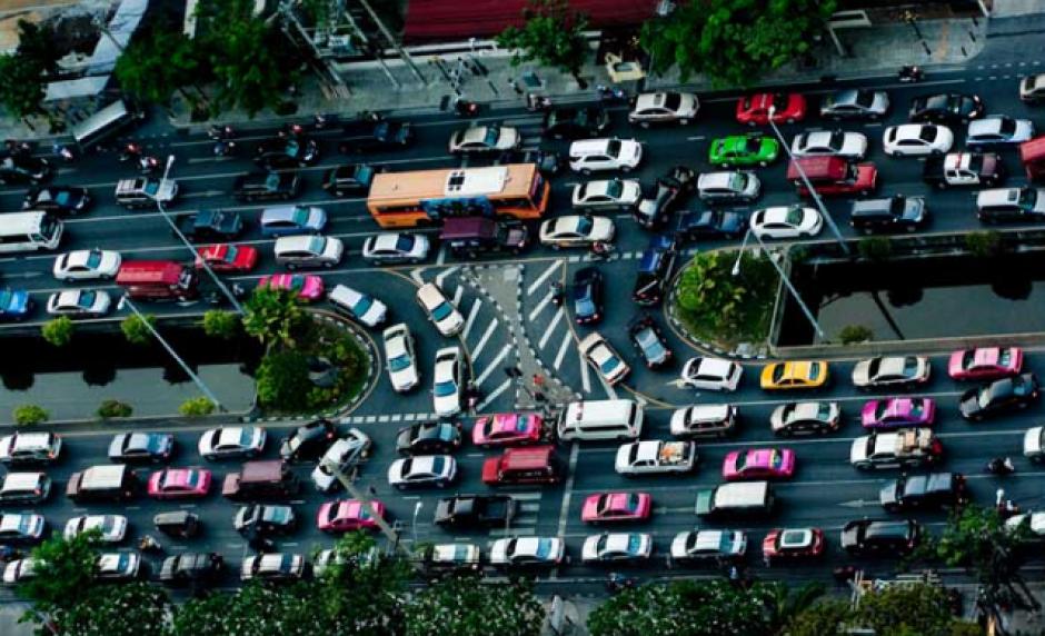 Bangkok, Tailandia, se sitúa en el segundo lugar con un nivel de congestión del 57%. (Foto: Bangkok bizarro)