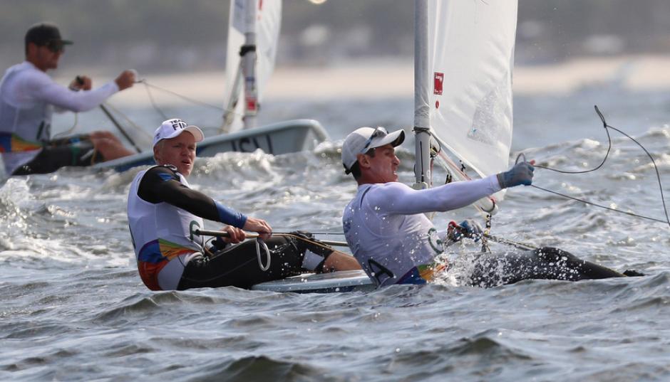 Juan Ignacio Maegli avanzó a la final en la categoía laser de la navegación a vela de Río 2016. (Foto: COG)