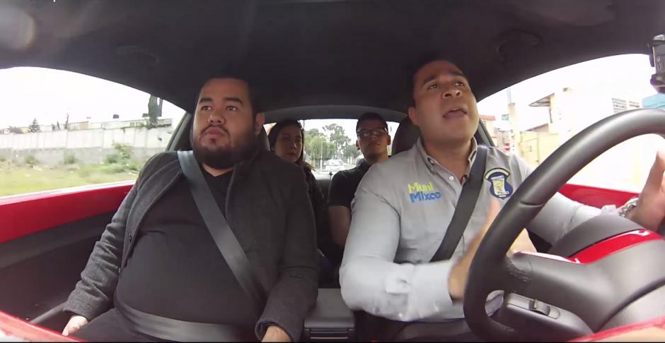 Neto Bran hace la invitación a compartir vehículos para disminuir el tránsito. (Foto: Captura de pantalla)