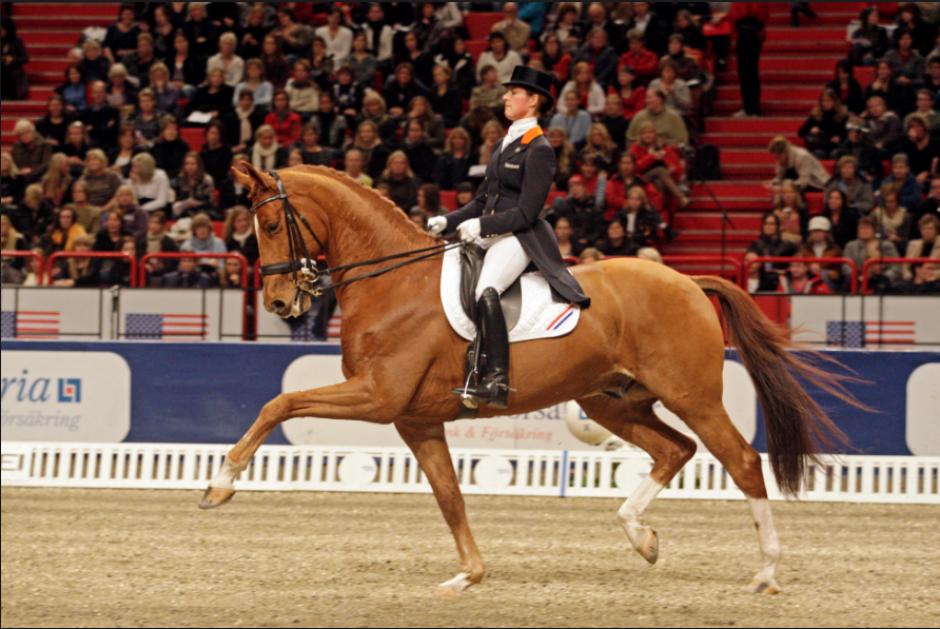 Adelinde Cornelissen se retiró de Río porque su caballo se enfermó. (Foto: NOS.nl)