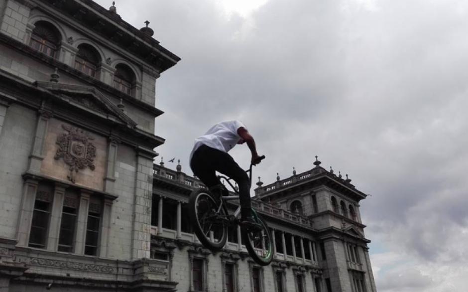 Jóvenes demostraron su destreza en deportes extremos. (Foto: Marcia Zavala/Soy502)
