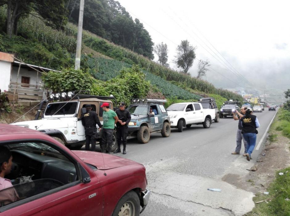 El sindicado fue aprehendido en San Martín Sacatepéquez, Quetzaltenango. (Foto: MP)