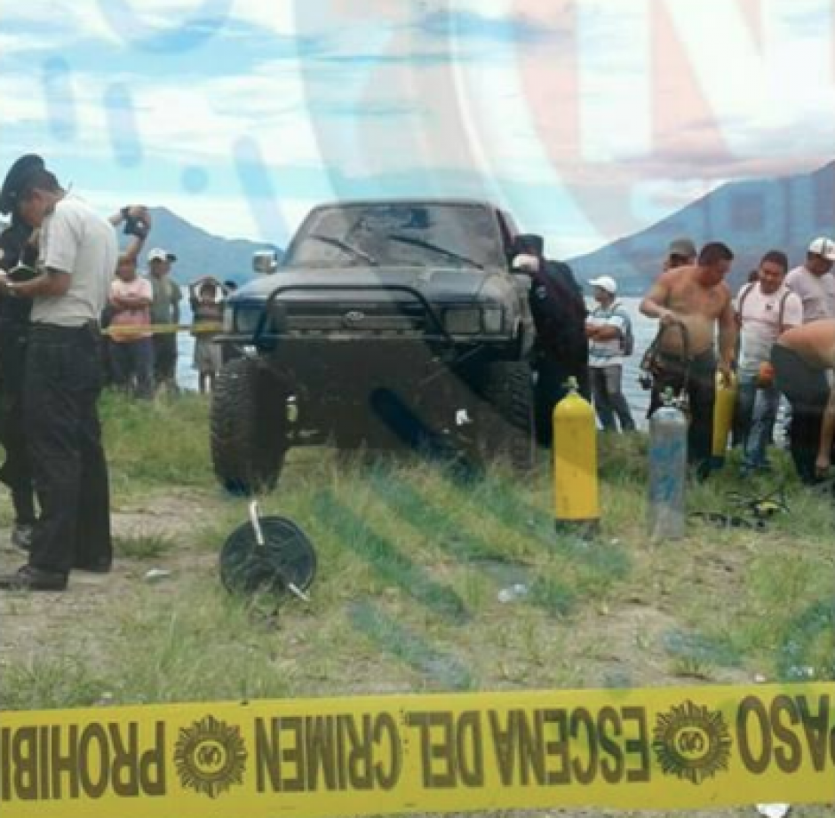 El detenido es el propietario del vehículo que fue arrojado en el lago de Atitlán con el cuerpo de la víctima. (Foto: Noticias Sololá)