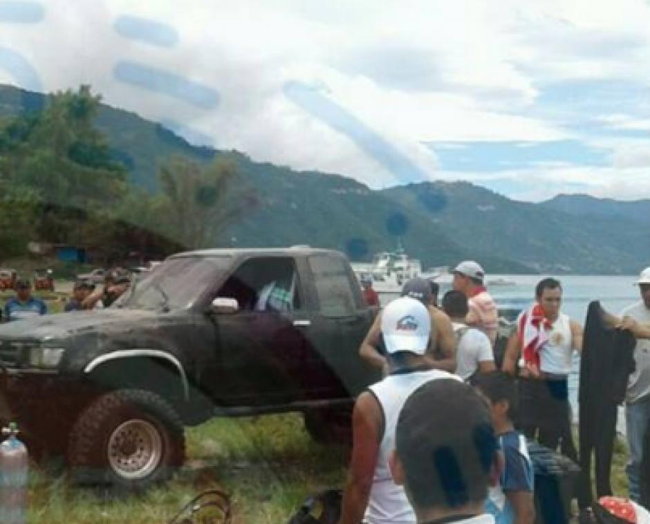El dueño del picop involucrado en el crimen, había reportado el robo del vehículo. (Foto: Noticias Sololá)