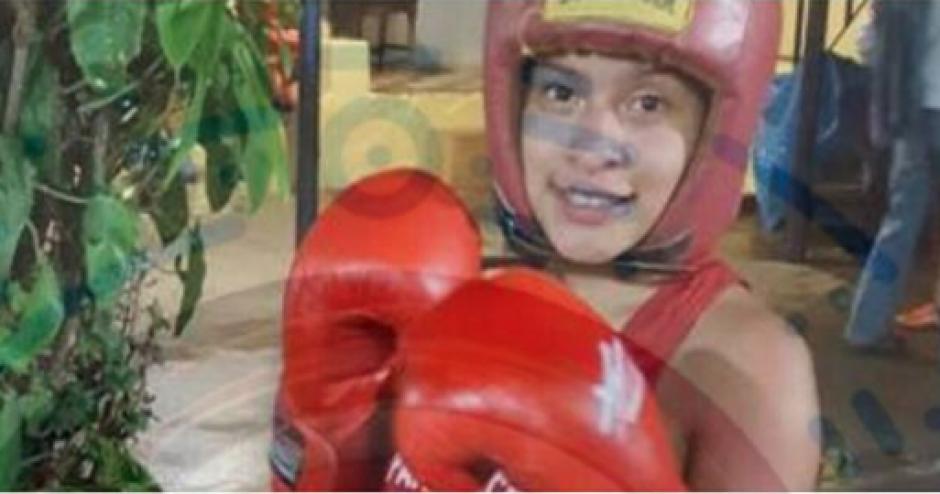 Chumil Vargas iniciaba su carrera como seleccionada de boxeo de Sololá. (Foto: Noticias Sololá)
