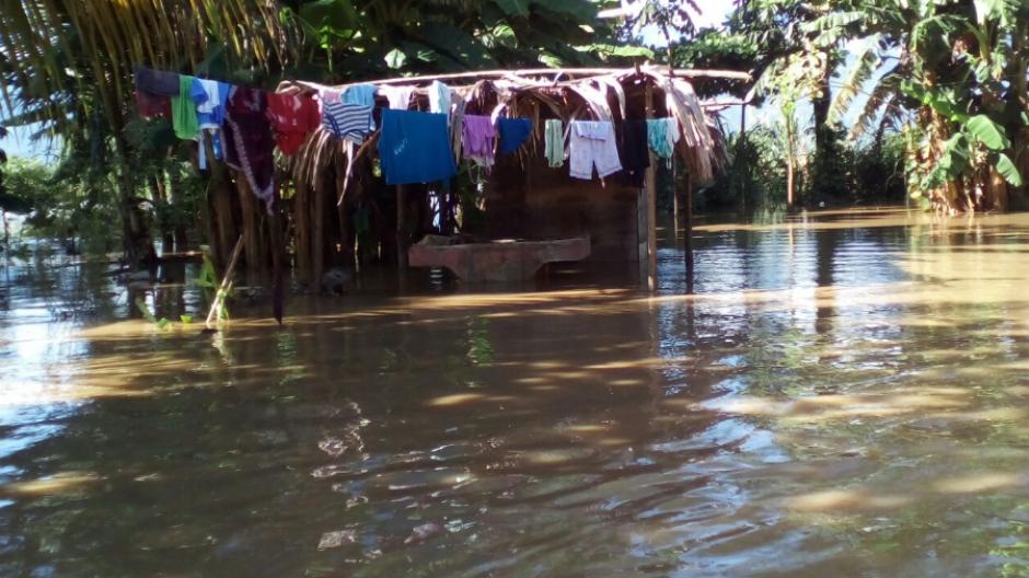 La cifra de familias cuya vivienda ha sido afectada se estima en 75. (Foto: Conred)