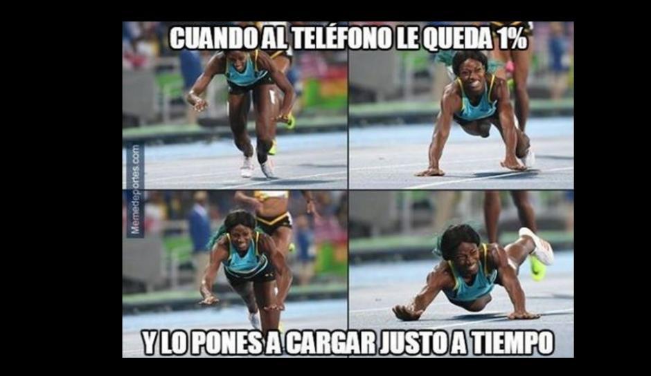 En las redes sociales se bromeó con la carga de la batería del celular. (Foto: El Comercio Perú)
