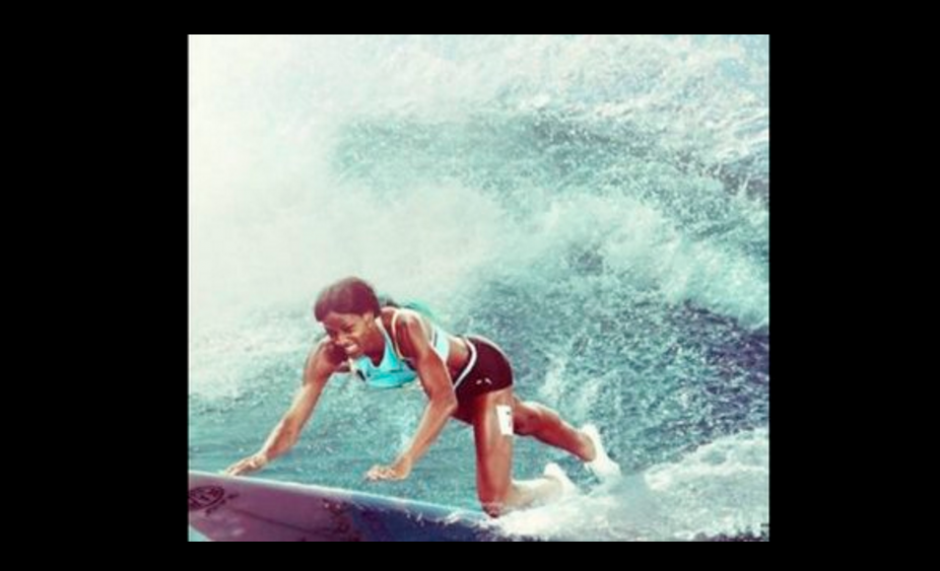 La bahamesa derrotó a Allyson Felix, la favorita en la prueba. (Foto: El Comercio Perú)
