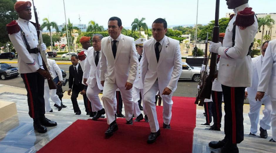 El mandatario estuvo en República Dominicana para la toma de posesión del Presidente. (Foto: AGN)