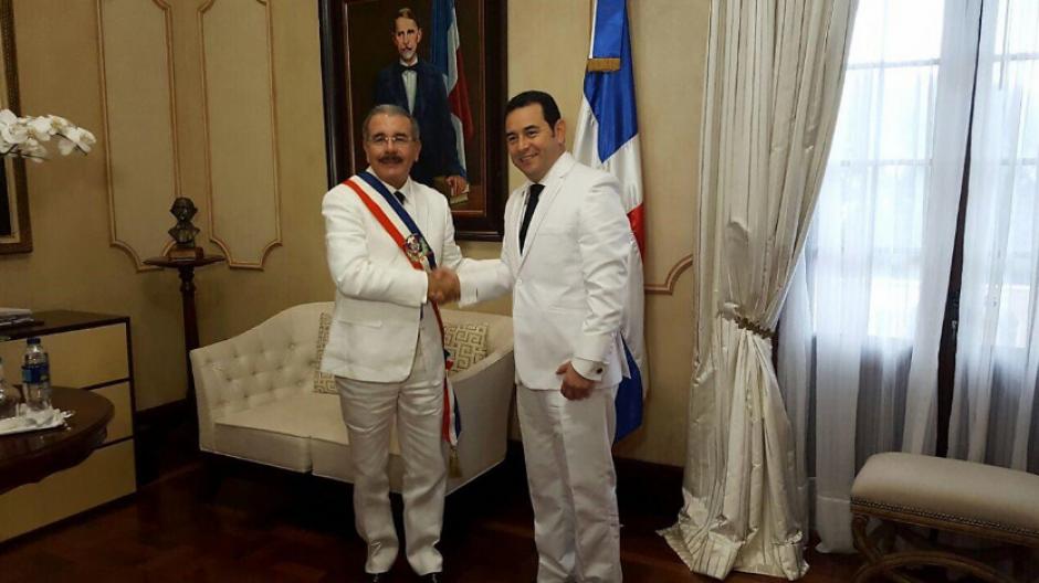Se reunió con Danilo Medina en República Dominicana. (Foto: AGN)