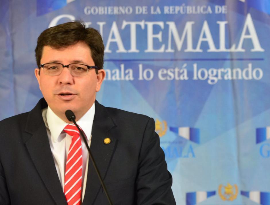 El Ministro de Finanzas defendió su propuesta de reforma fiscal. (Foto: Jesús Alfonso/Soy502)