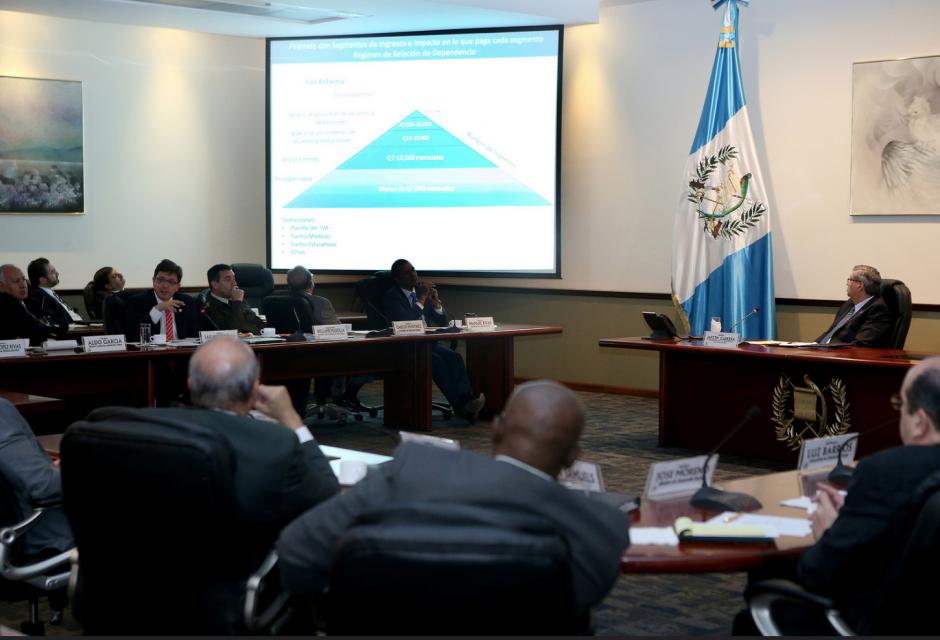 El Ministro de Finanzas explicó durante el Gabinete de Gobierno detalles de la reforma fiscal. (Foto: Presidencia)