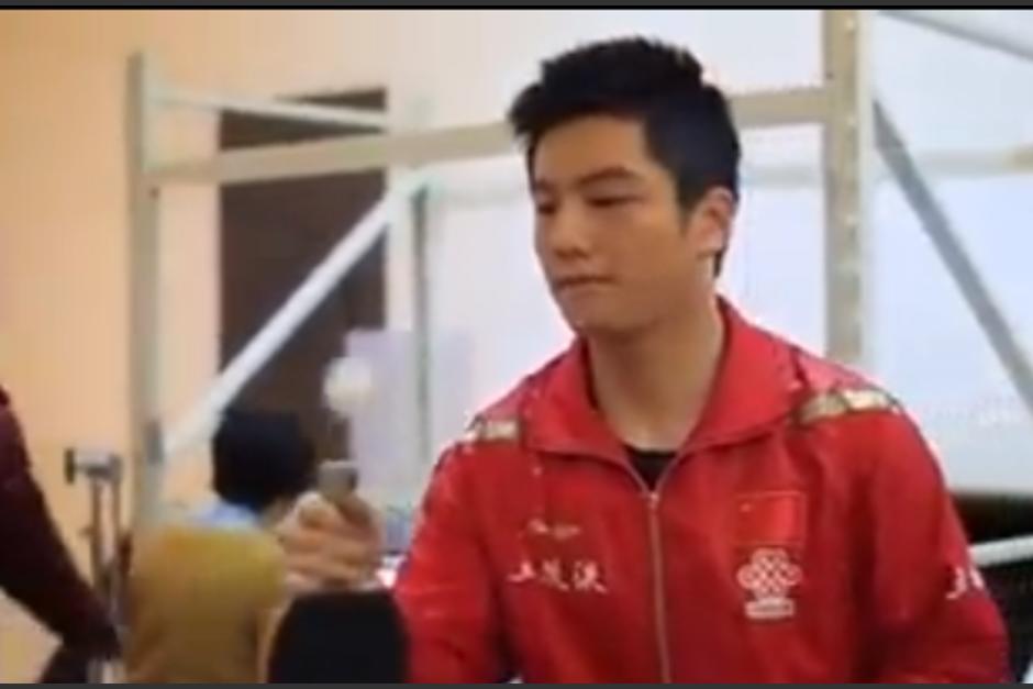 El equipo chino de tenis de mesa está en la final de Río de Janeiro 2016. (Imagen: Captura de pantalla)