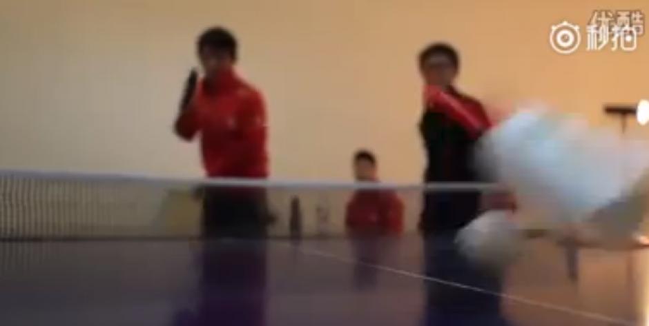 Los integrantes chinos demostraron su fina puntería. (Imagen: Captura de pantalla)