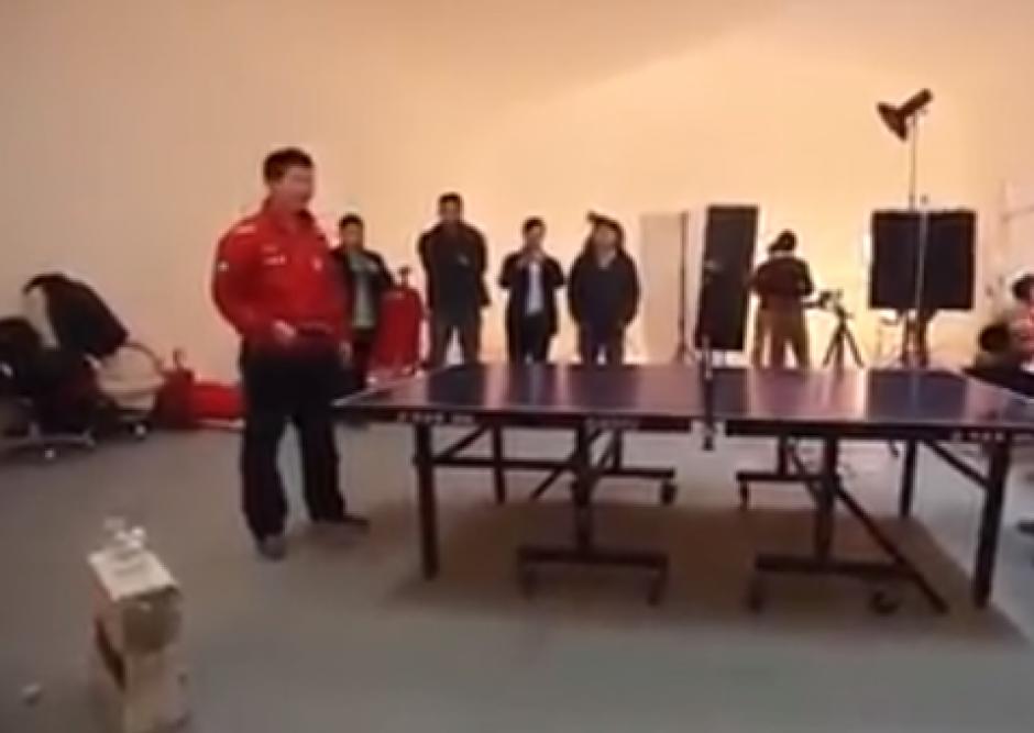 Los chinos son los rivales a vencer en tenis de mesa. (Imagen: Captura de pantalla)