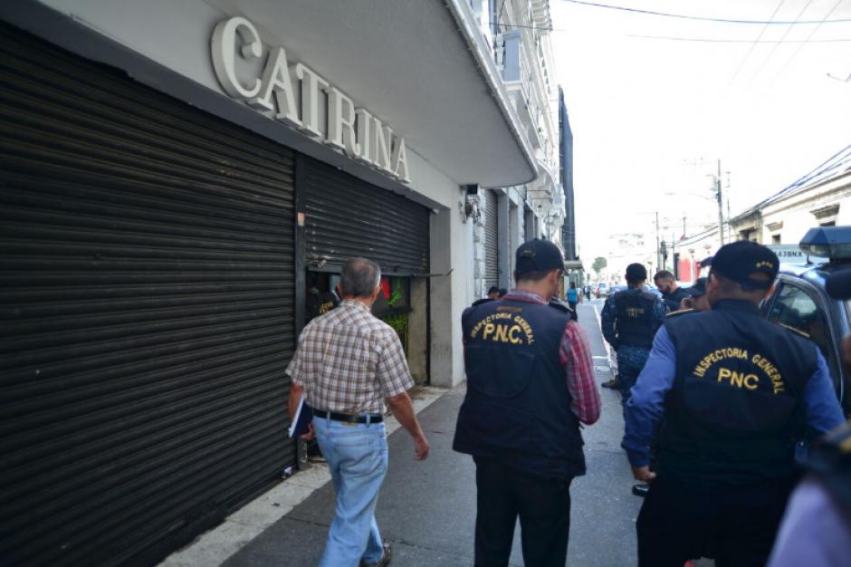 El allanamiento se registró desde las 6:00 horas de este 17 de agosto. (Foto: Wilder López/Soy502)