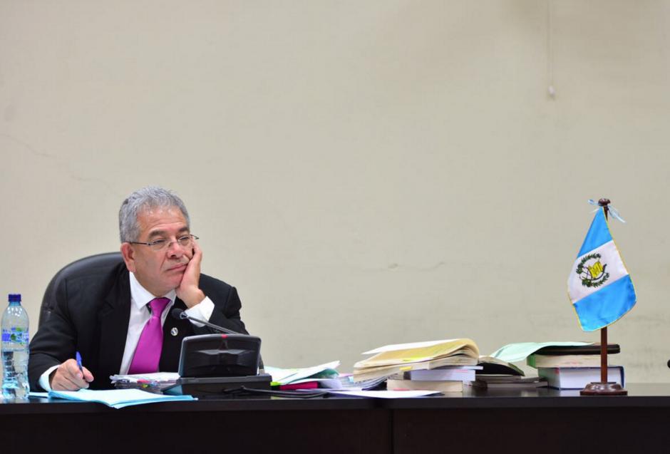 El juez Gálvez deberá decidir sobre si declina o no seguir con el caso el próximo viernes. (Foto: Jesús Alfonso/Soy502)
