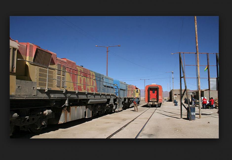 El tren de Calama en Chile fue el protagonista del accidente. (Foto: Ilustrativa extraída de mqltv.com)