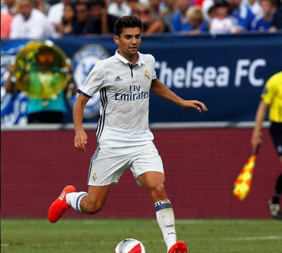 El hijo mayor de Zinedine Zidane jugó por primera vez en el Santiago Bernabéu. (Foto: Instagram/@enzo)