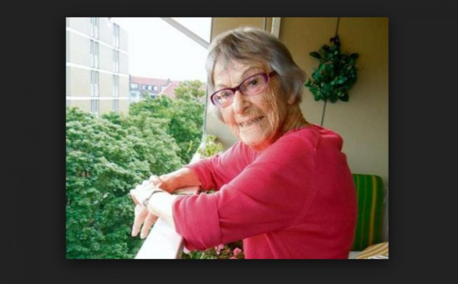 Brunhilde Pomsel, secretaria del máximo responsable de la propaganda nazi. (Foto: cincodays.com)