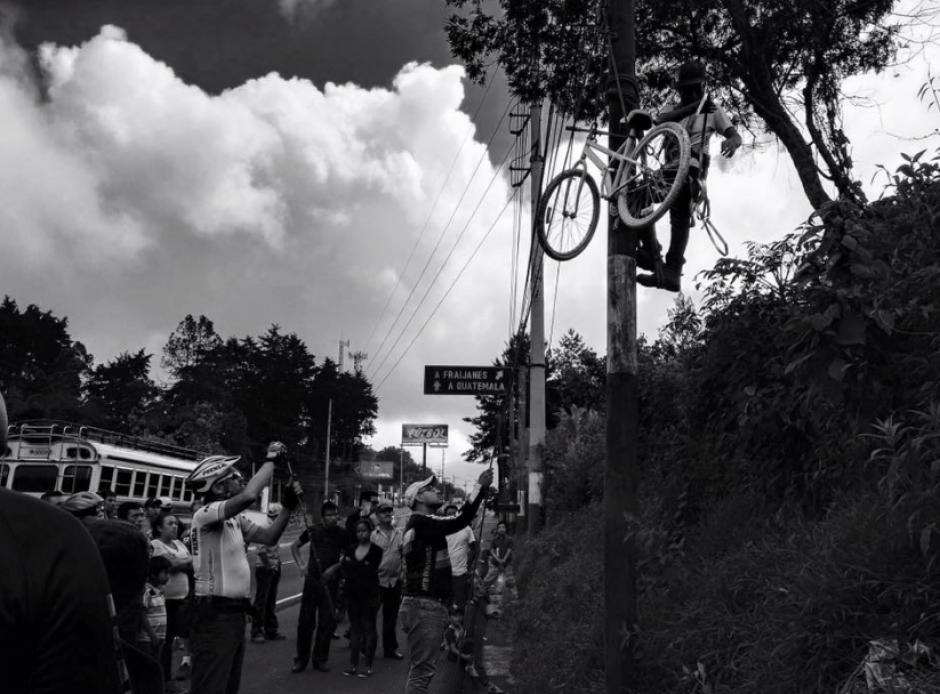 La mayoría de accidentes se registran en Carretera a El Salvador. (Foto: Facebook/Bicicletas Blancas)
