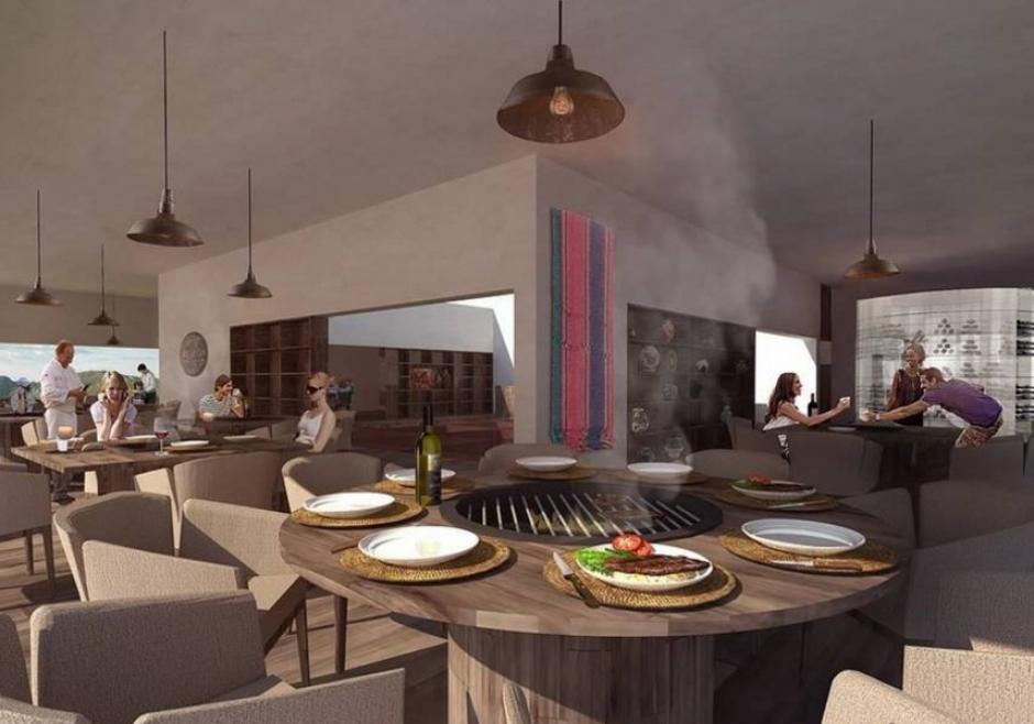 Así serán las mesas de servicio en el restaurante. (Foto: thearchitectureclub.com)