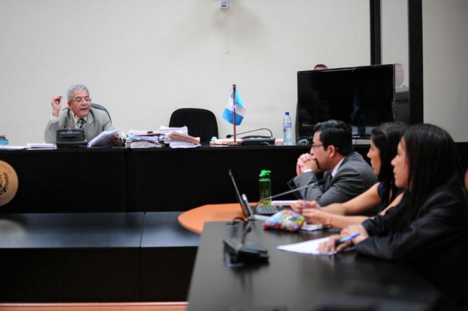 El Juez Gálvez decidió que continuará en el caso Cooptación. (Foto: Alejandro Balán/Soy502)
