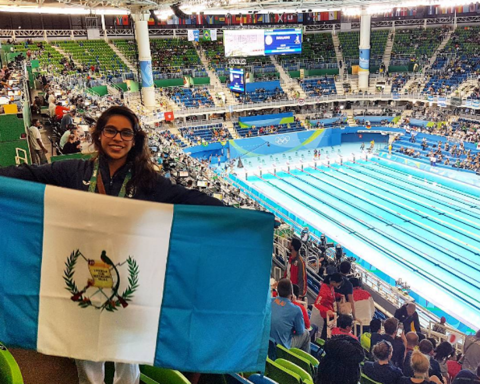 Ana Sofía Gómez apoya a los demás atletas que se encuentran en Río. (Foto: Ana Sofía Gómez/Instagram)