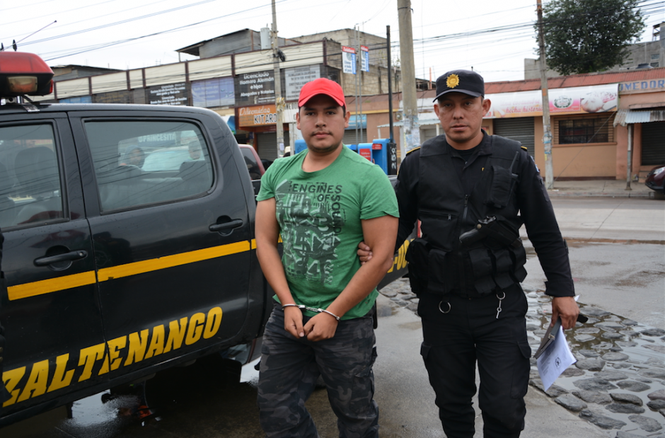José Alfonso de León fue detenido por la PNC. (Foto: Vinicio Tan/Nuestro Diario)