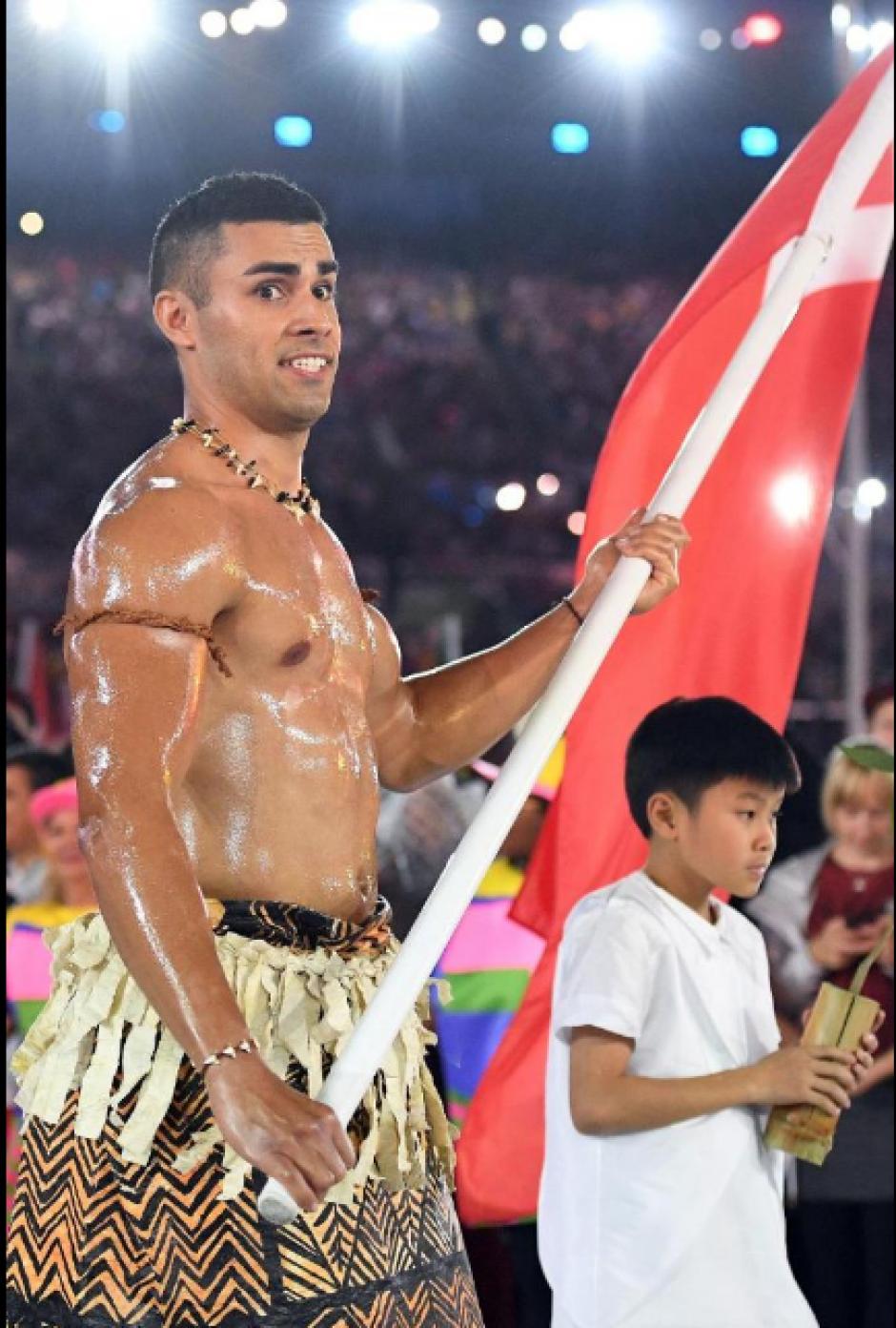 Tonga, su país de origen, se compone de 169 islas. (Foto: Twitter)