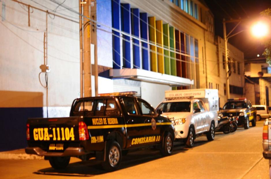 Las oficinas de la empresa SIGA, que administra el servicio de Transurbano fue allanada este viernes. (Foto: Alejandro Balan/Soy502)