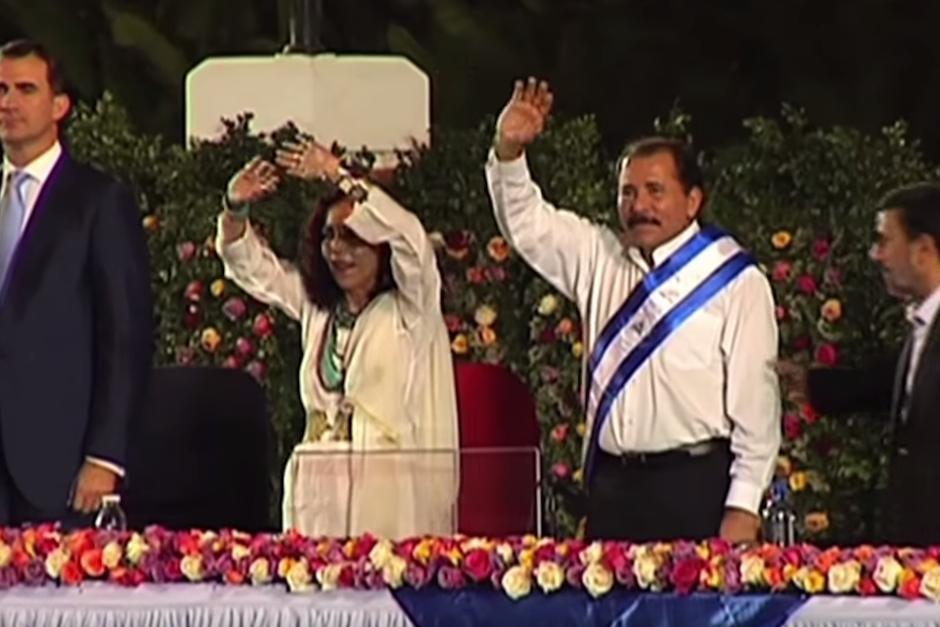 El presidente de Nicaragua, Daniel Ortega, busca la reelección junto a su esposa como vicepresidenta. (Foto: Captura de Pantalla/AFP)