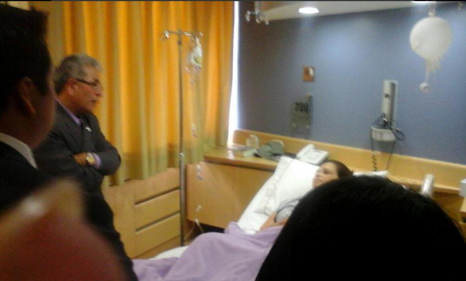 Gálvez le explicó el motivo de su detención en el hospital, pues se negaba asistir a tribunales. (Foto: Archivo/Soy502)