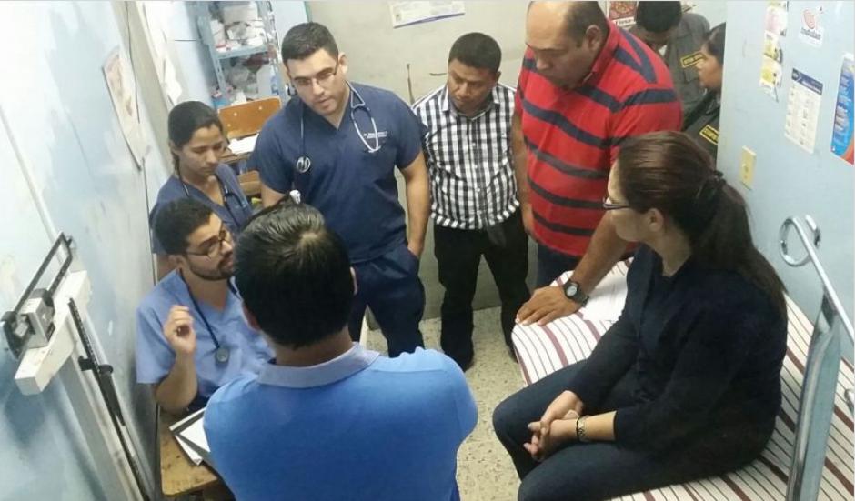 En una ocasión fue al Hospital General San Juan de Dios. (Foto: Archivo/Soy502)