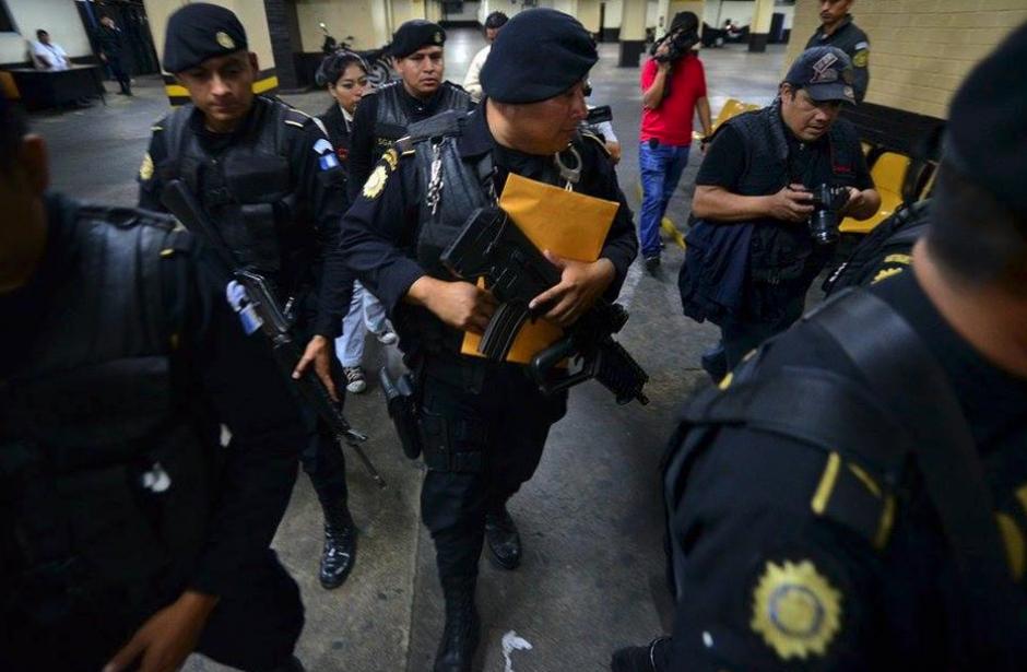 El 21 de agosto de 2015 las Fuerzas Especiales llevaron la orden de captura. (Foto: Archivo/Soy502)