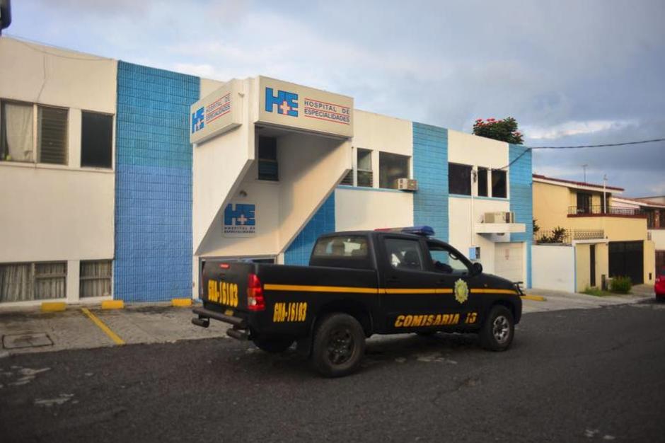 En Mixco, la exvicemandataria fue hospitalizada. (Foto: Archivo/Soy502)