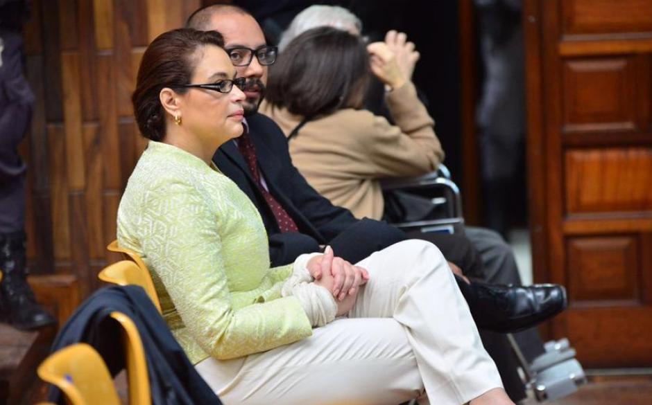 En las audiencias de Cooptación del Estado. (Foto: Archivo/Soy502)