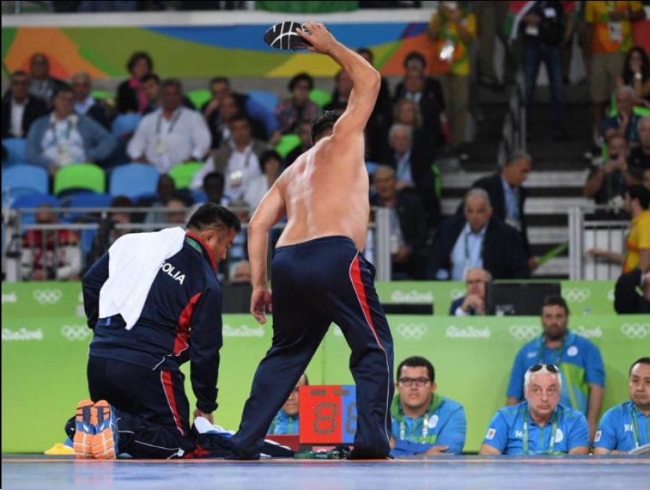 El último día de Río dejó uno de los momentos más insólitos. (Foto: Twitter)