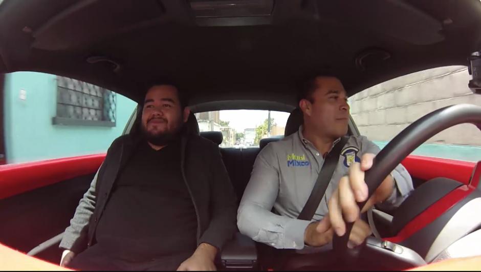 El plan piloto espera reducir la cantidad de carros que circulan por las principales arterias del municipio de Mixco. (Captura Video)