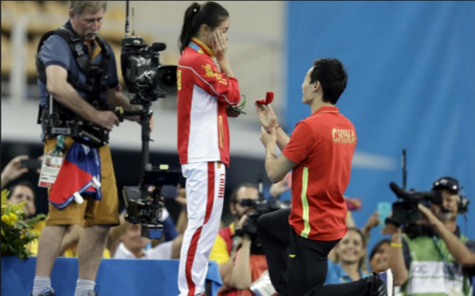 Compitió en Río ganó medalla de Oro y le pidieron matrimonio. (Foto: foxsports.com)