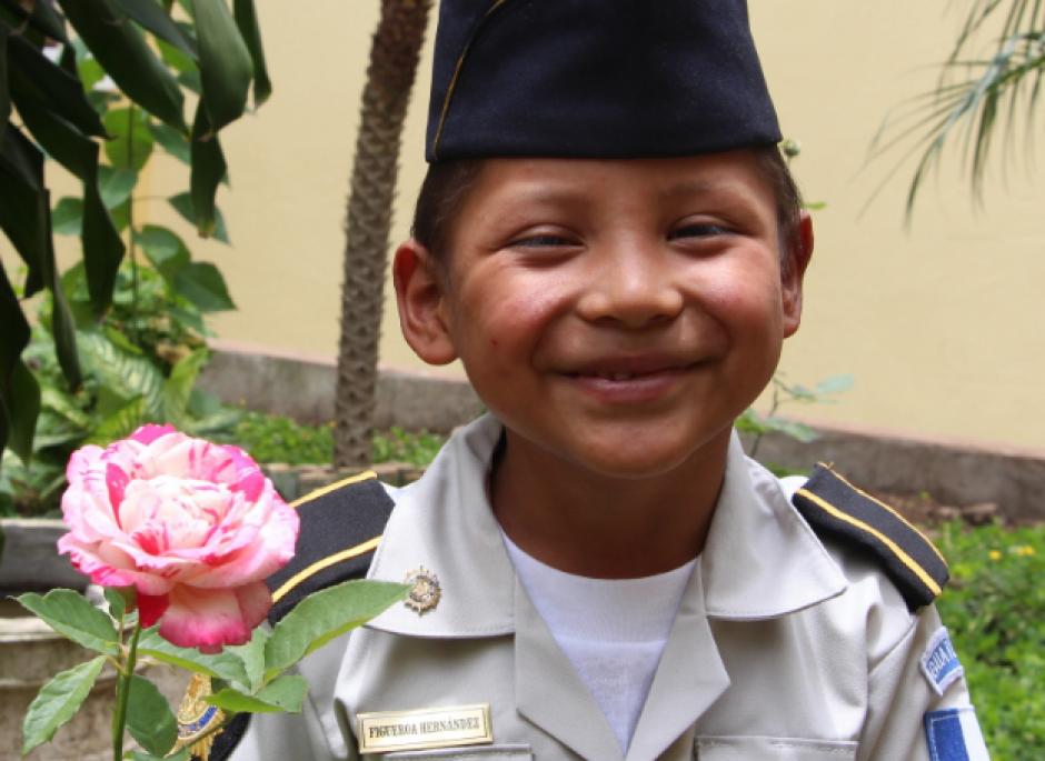 A sus cinco años le fue cumplido uno de sus sueños. (Foto: PNC)