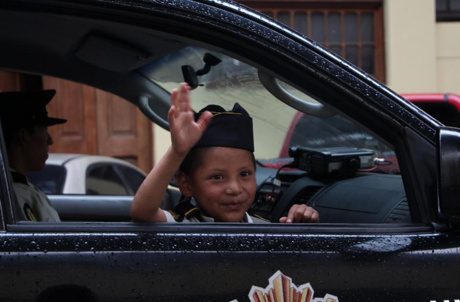 Edwin es un niño diagnosticado con cáncer. (Foto: PNC)