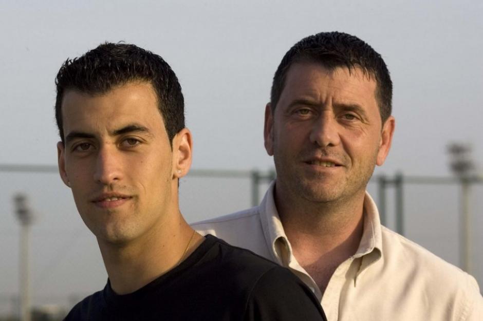 Carlos Busquets se quemó con una plancha por salvar a Sergio, su hijo. (Foto: Sport.es)