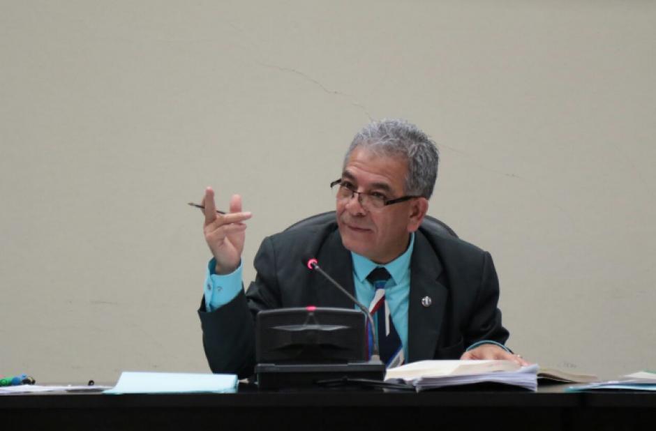 En la diligencia el juez Miguel Ángel Gálvez debe evaluar qué pruebas serán aceptadas para el juicio. (Foto: Alejandro Balán/Soy502)